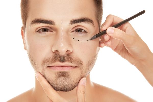 Man plastic surgery