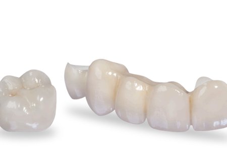Zirconian dental crown