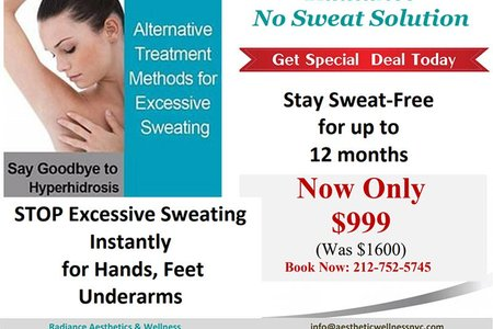Hyperhydrosis coupon