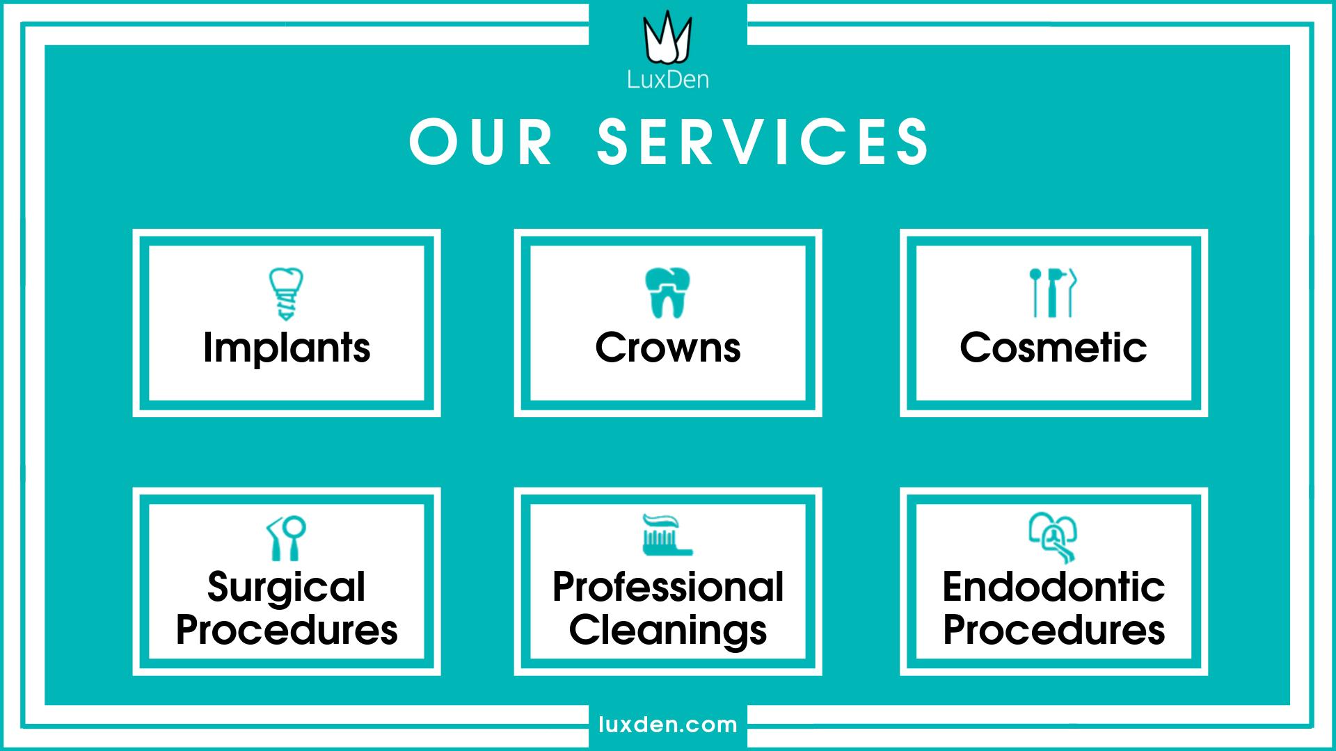 Luxden services